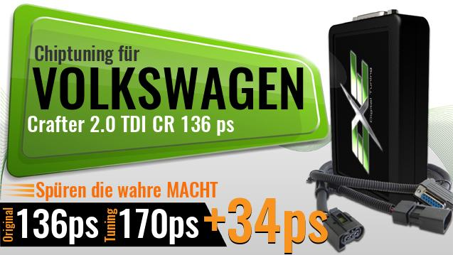 Chiptuning Volkswagen Crafter 2.0 TDI CR 136 ps