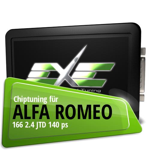 Chiptuning Alfa Romeo 166 2.4 JTD 140 ps