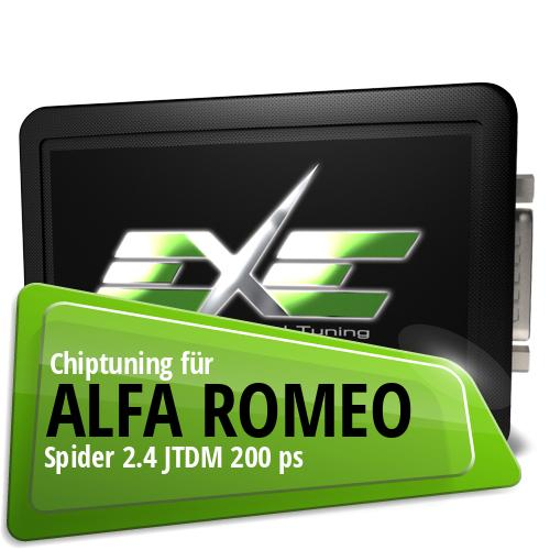 Chiptuning Alfa Romeo Spider 2.4 JTDM 200 ps