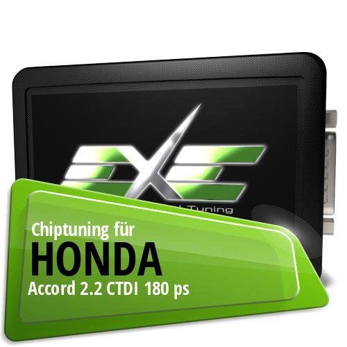 Chiptuning Honda Accord 2.2 CTDI 180 ps