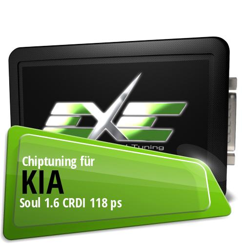 Chiptuning Kia Soul 1.6 CRDI 118 ps