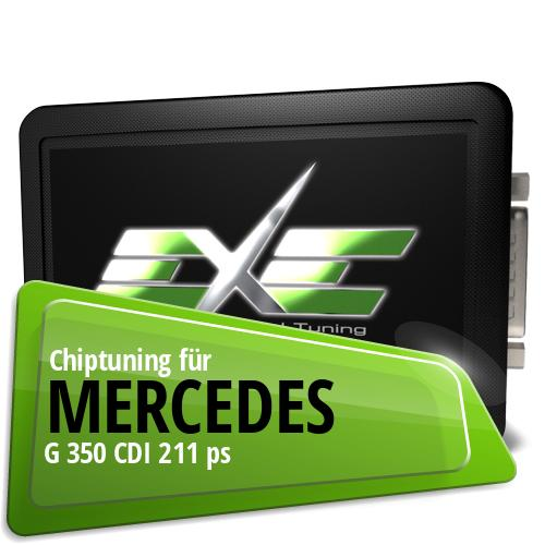 Chiptuning Mercedes G 350 CDI 211 ps