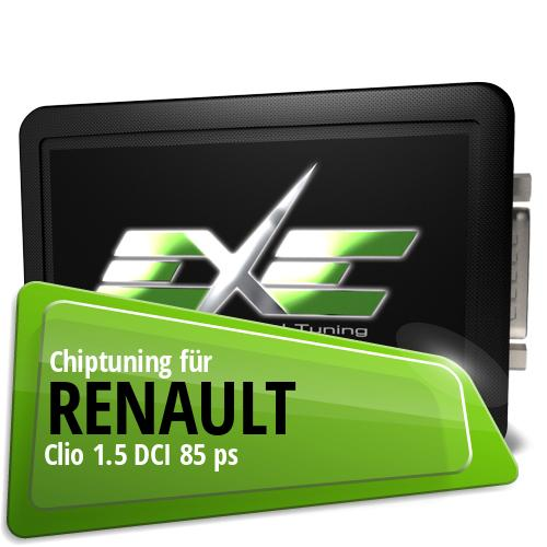 Chiptuning Renault Clio 1.5 DCI 85 ps