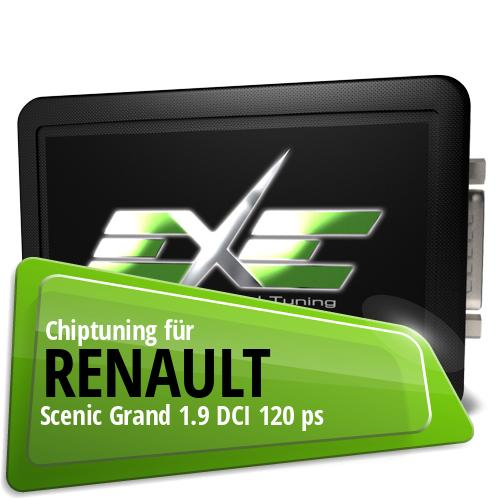 Chiptuning Renault Scenic Grand 1.9 DCI 120 ps