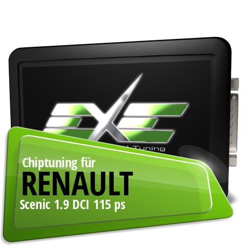 Chiptuning Renault Scenic 1.9 DCI 115 ps