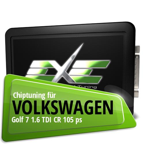 Chiptuning Volkswagen Golf 7 1.6 TDI CR 105 ps